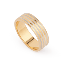 28229 - 22ct Asian Gold Band Ring