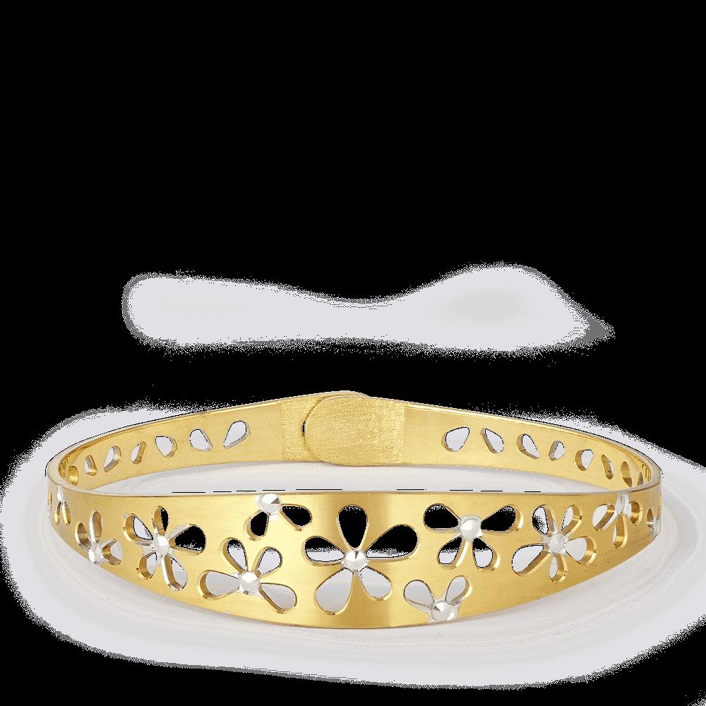 28263 - 22 Carat Gold Single Bangle UK