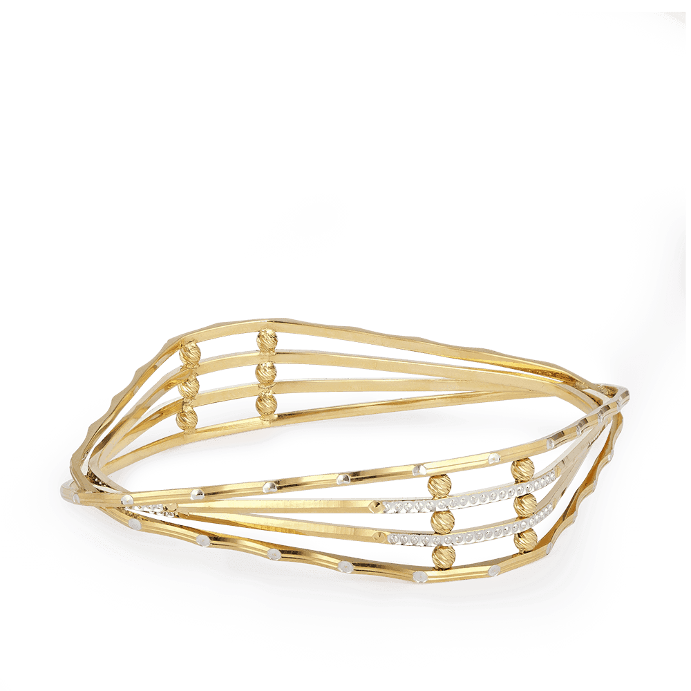 28268 - Indian Bangles In 22ct Gold