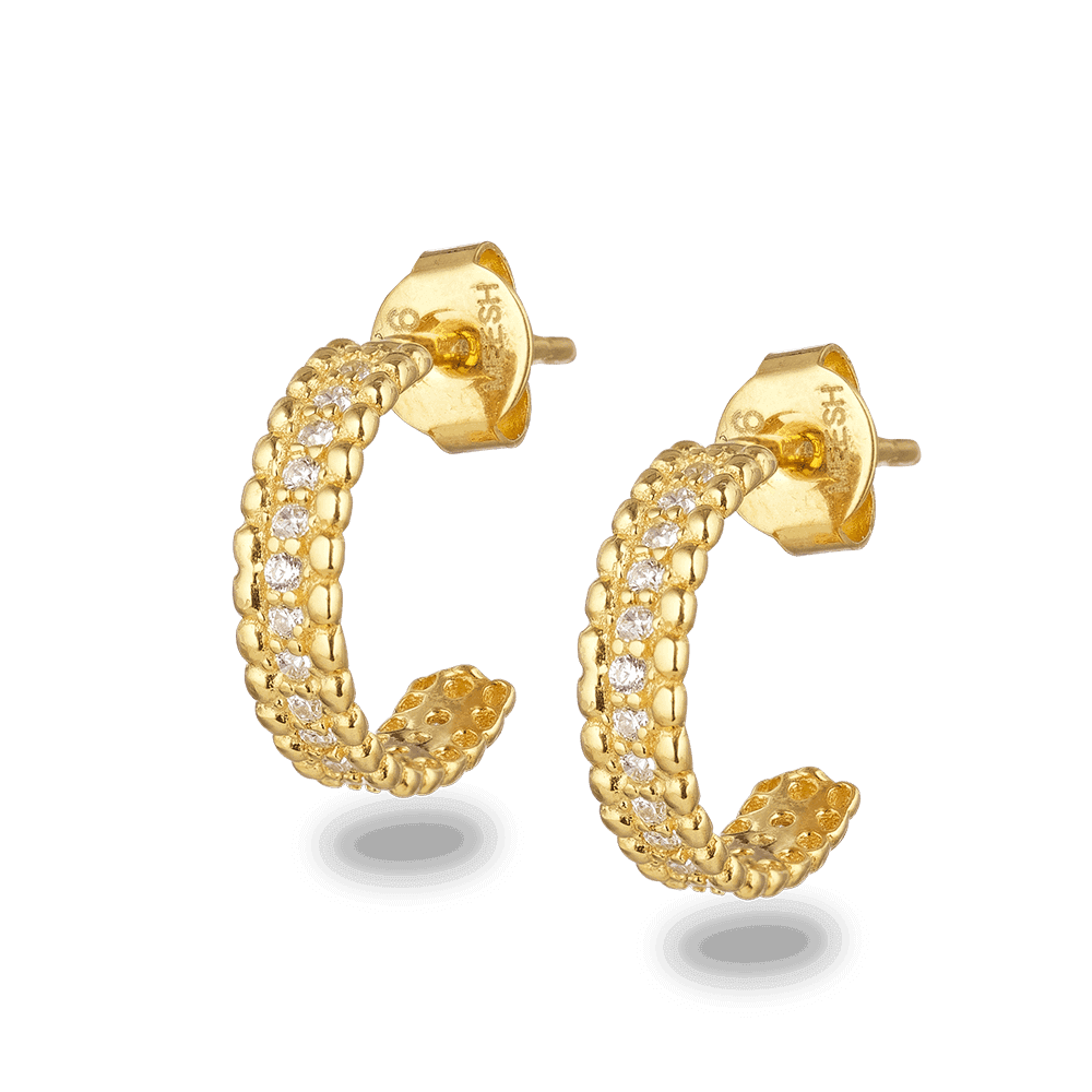 28519 - 22ct Indian Gold Girls Earring