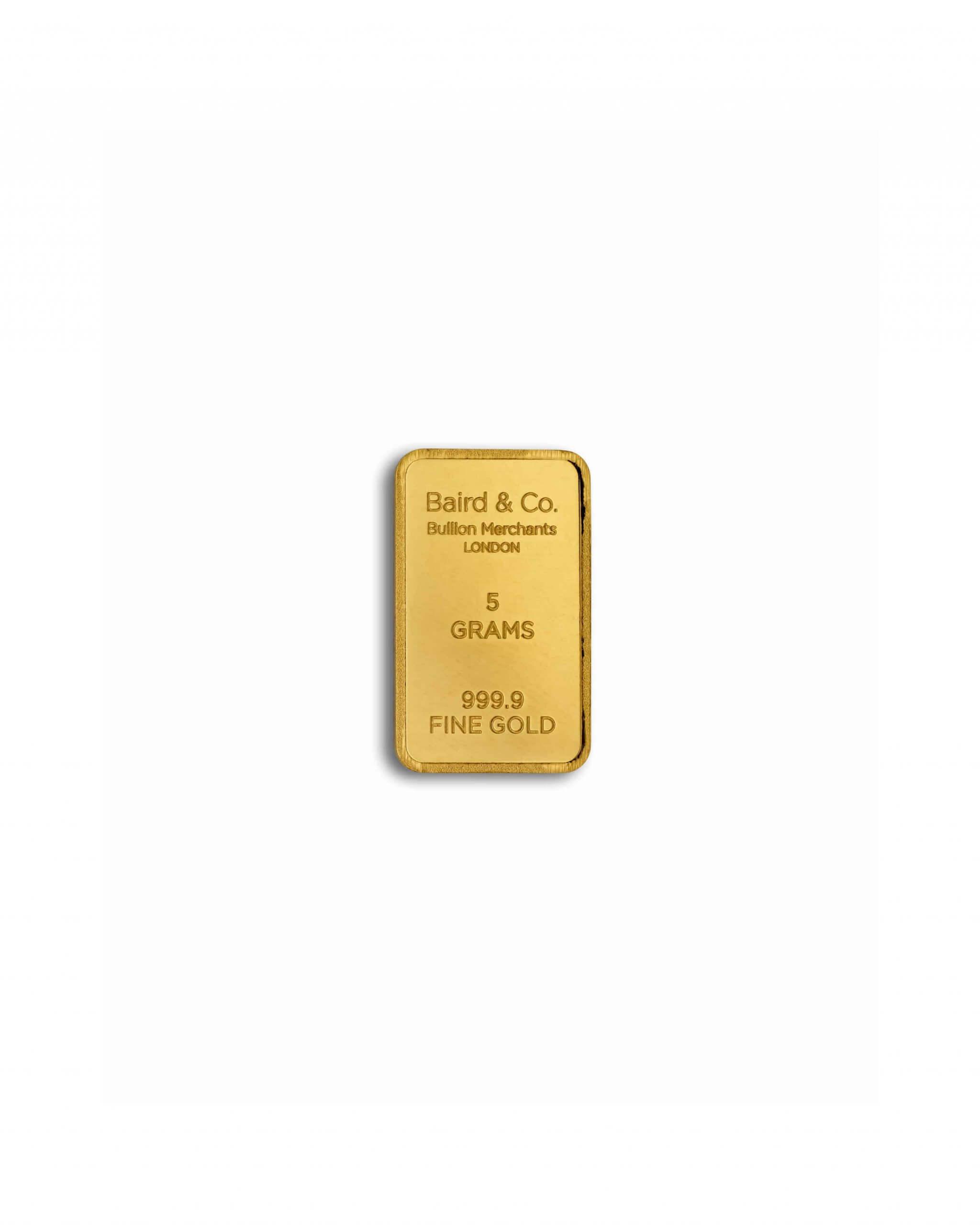 5gm 999.9 Gold Bar