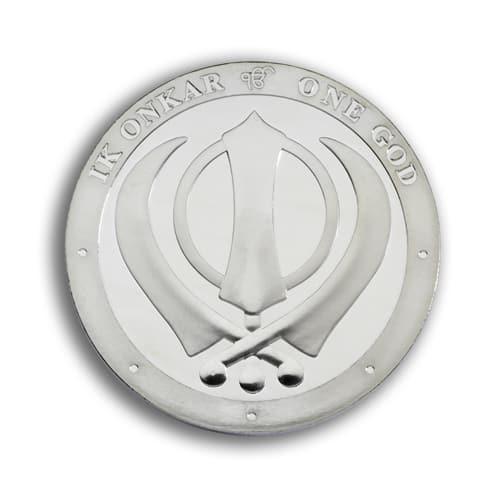 Silver Khanda - 1oz - Silver Khanda Coin - 1oz