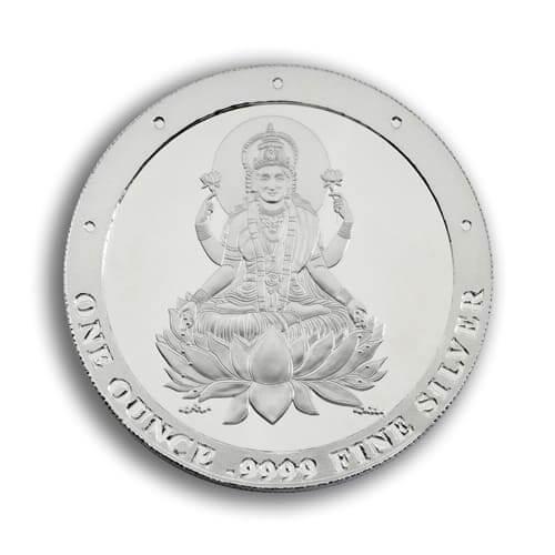 Silver Lakshmi - Silver Lakshmi - 1oz