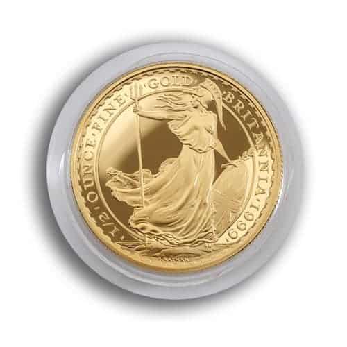 1/2oz Britannia - Gold 1/2oz Britannia in 22ct