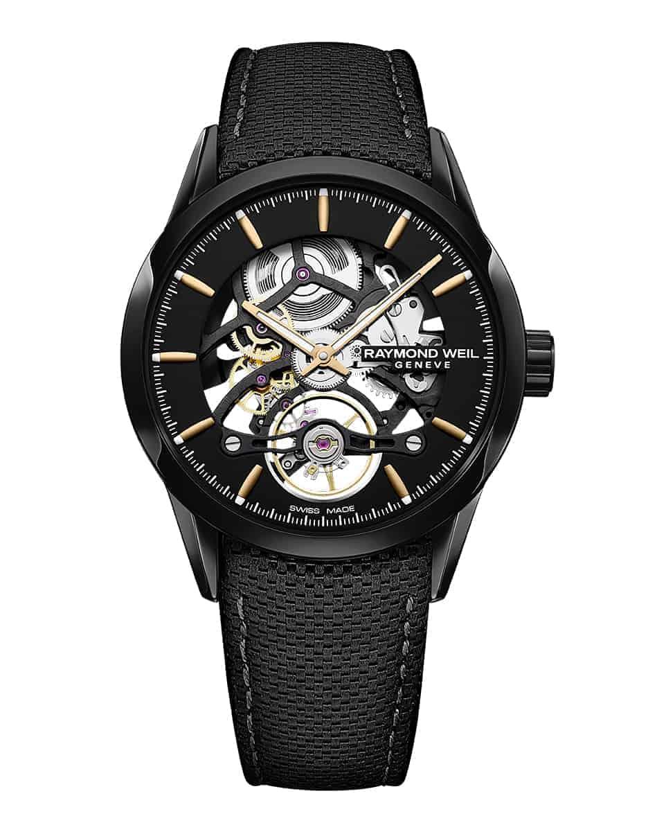 2785-BC5-20001 - Freelancer Calibre Skeleton Men's Automatic Black Watch