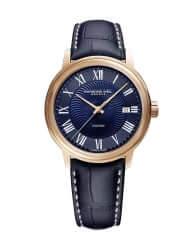 2237-PC5-00508 - Maestro Blues' Men's Automatic Rose Tone Watch