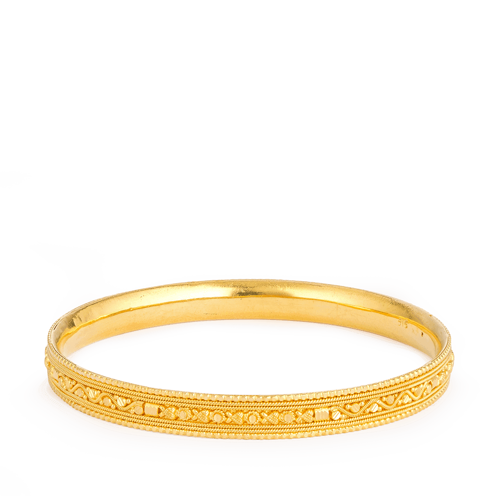 12899 - Solid Gold Bangle