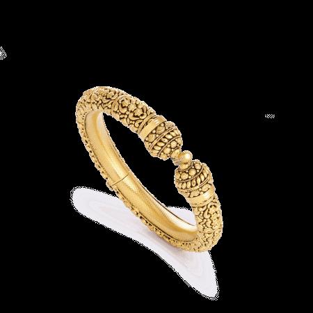 28698 - 22 Carat Gold Bridal Kada