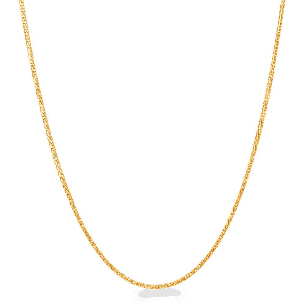 "25914 - 22ct Gold Wick Chain 16"" Inches"