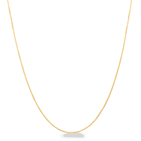 "25917 - 22ct Gold Serp Chain In 18"" Inches"