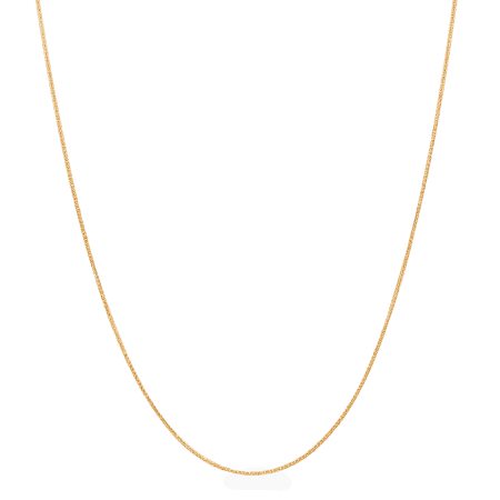 26463 - 22ct Gold Foxtail Chain in 16 Inches