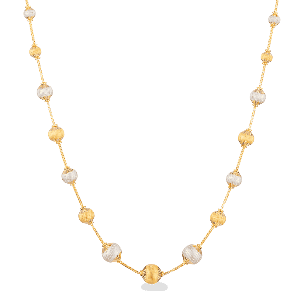 27766 - Sparkle Necklace in 22ct Gold