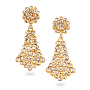 22ct Gold Indian Earrings From Purejewels Jewellery