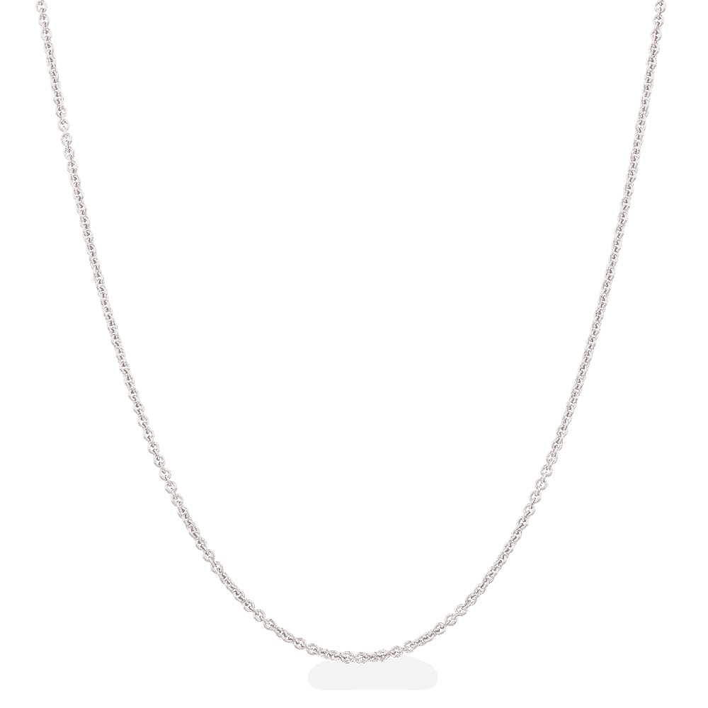 "28128 - 18ct White Gold Chain in 16"" Inches"