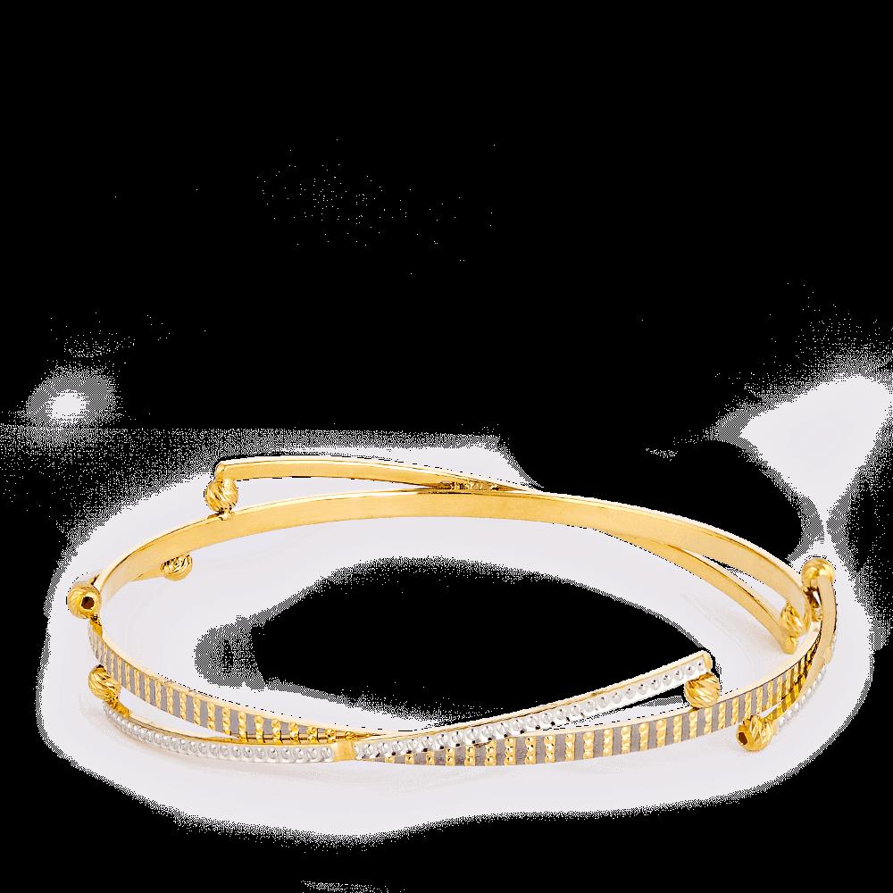 28277 - 22ct Gold Single Bangle