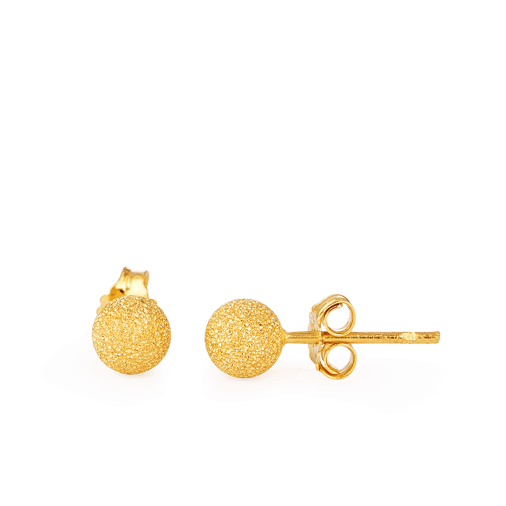28616 - 22ct Indian Gold Earrings