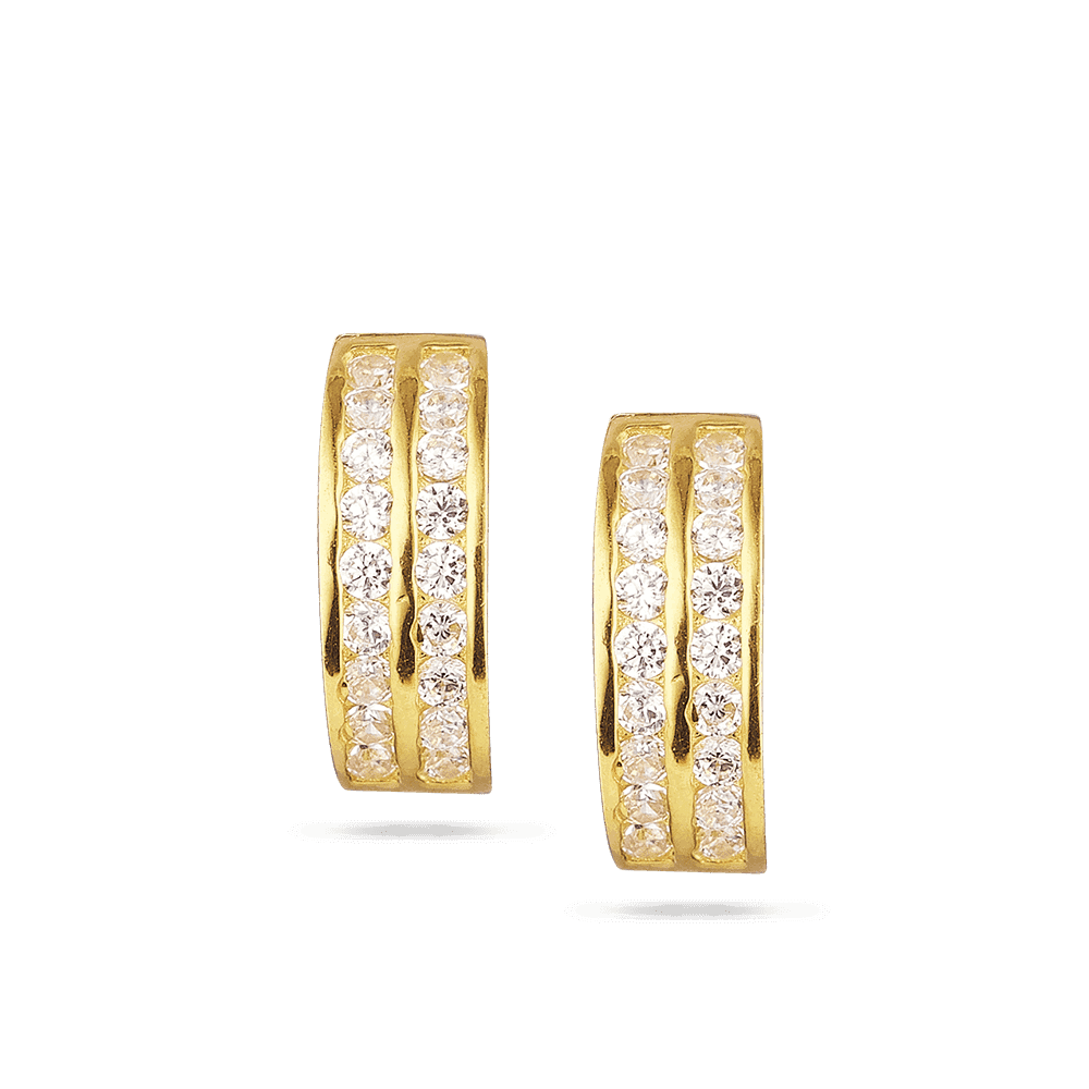 28652 - 22ct Gold Earrings