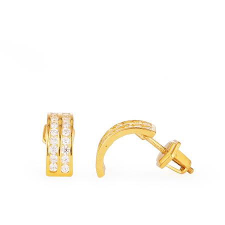 28652 - 22ct Gold Earrings