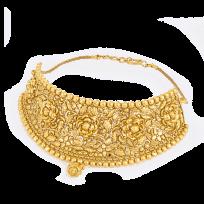 28702 - 22 Carat Gold Bridal Necklace