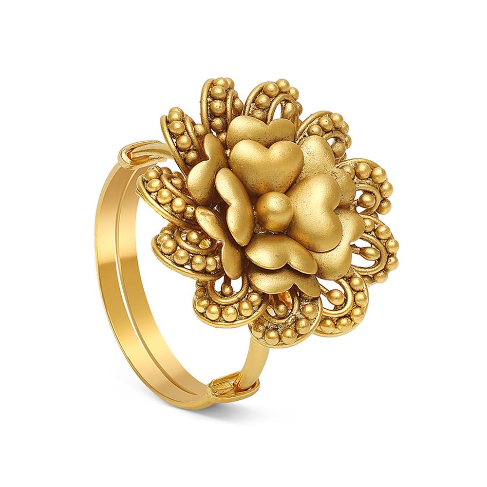 22ct Gold Ring 28711-1