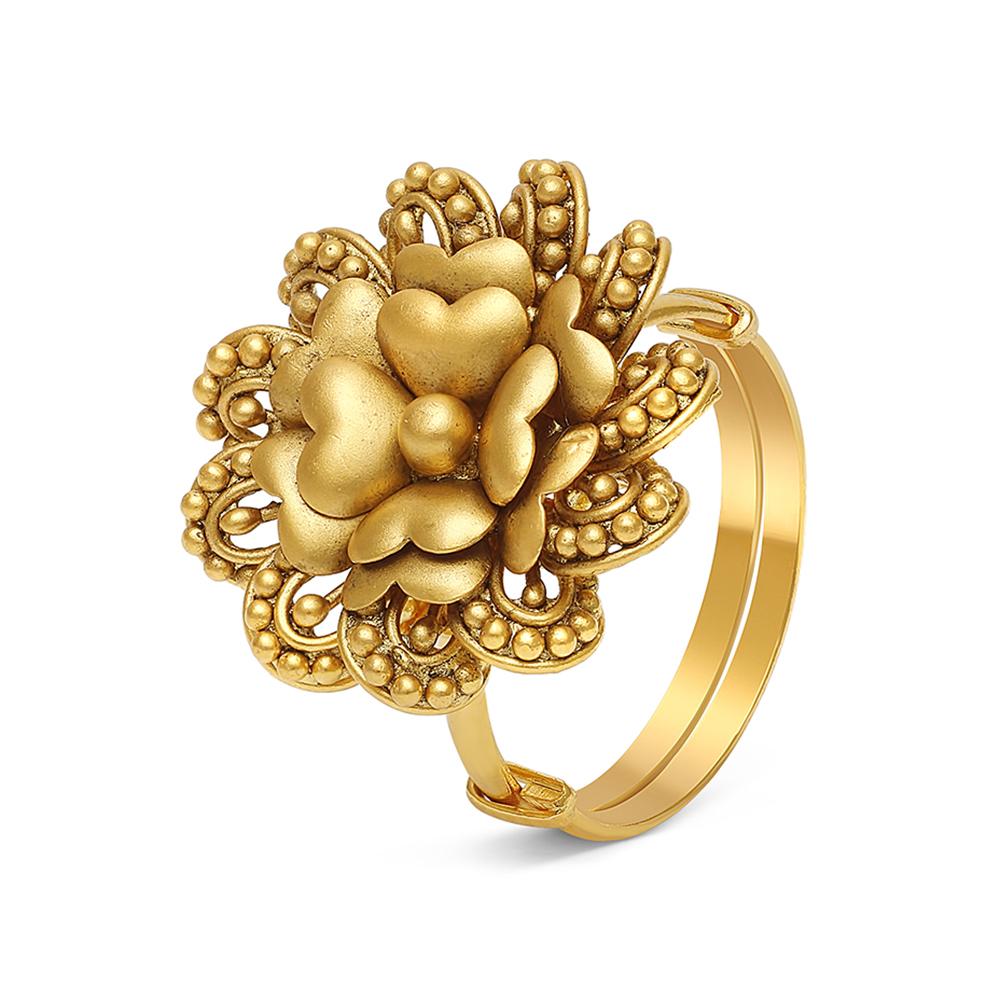 22ct Gold Ring 28711-2