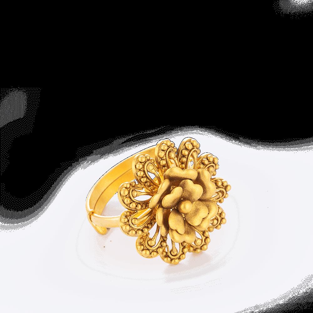 28711 - 22ct Rose Gold Ring