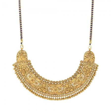 30909 - 22 Carat Gold Bridal Antique Necklace