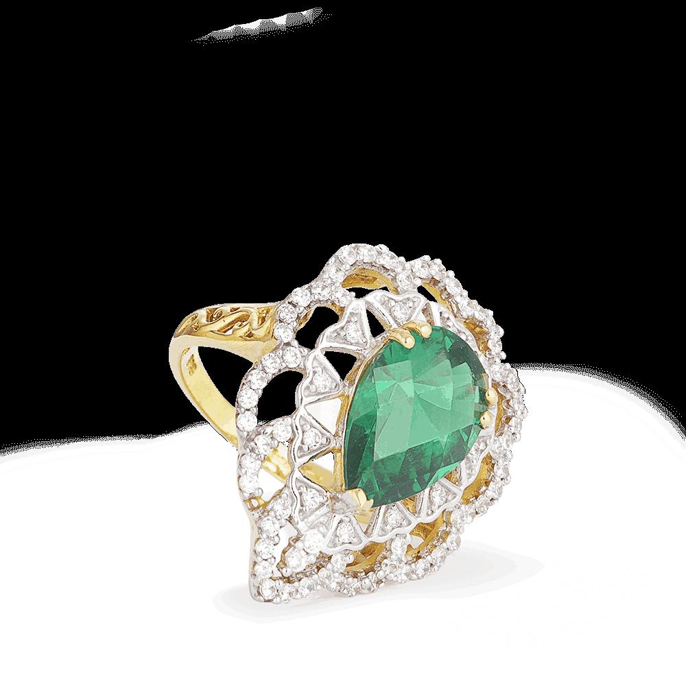 23004 - 22k Indian Gold Ring