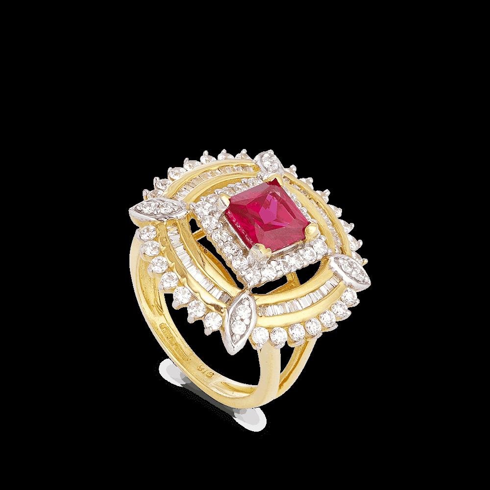 23006 - 22ct Women's Gold Ring