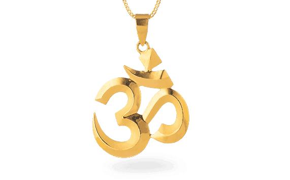 - Lord Sri Krishna Gold Pendant