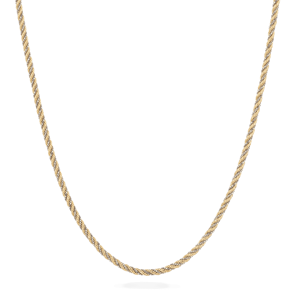 26053 - 18 Carat Yellow Gold Rope Chain in 16 inches