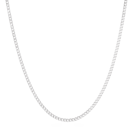 26502 - 18 inches White Gold Chain UK