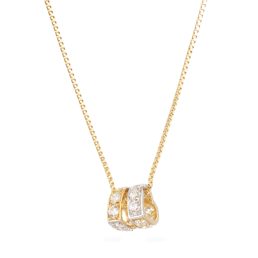 30313 - 22ct Yellow Gold Heart Shaped Pendant
