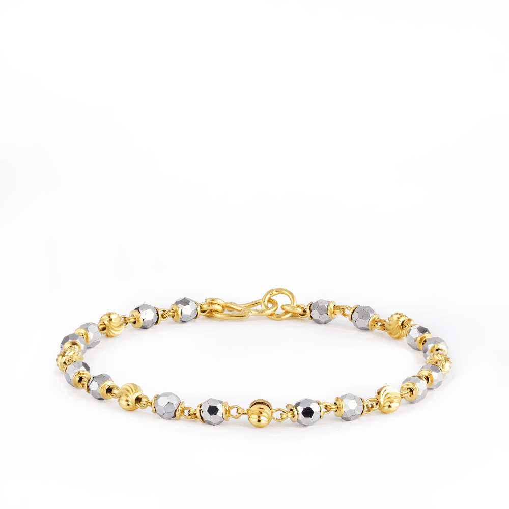 27173 - Black and gold mania Jewellery Bracelet for new born baby.