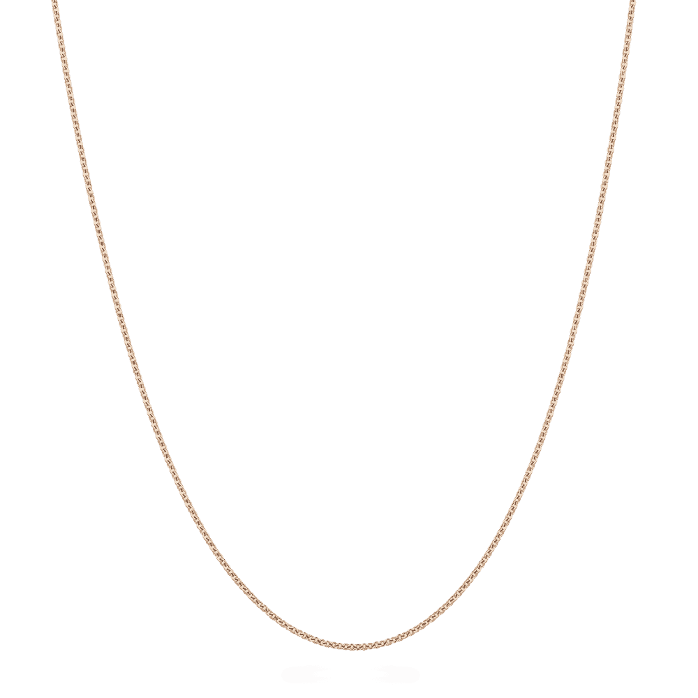 "27447 - 18ct Rose Gold Chain 18"" Inches"