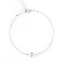 28582 - 18kt White Gold Diamond Bracelet