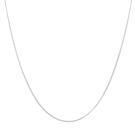 """28583 - 18 carat White Gold Chain 20"""" Inches"""