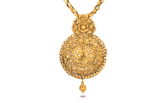 22ct Filigree Pendant