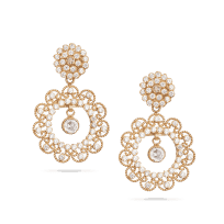 28775 - Indian Gold Earrings