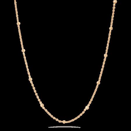 31717 - 22 carat Gold Chain with Polki Stones