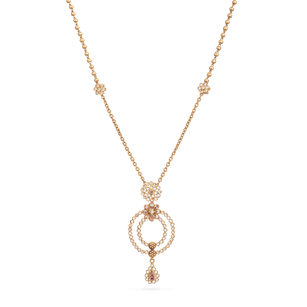 28833 - Bridal Gold Necklace