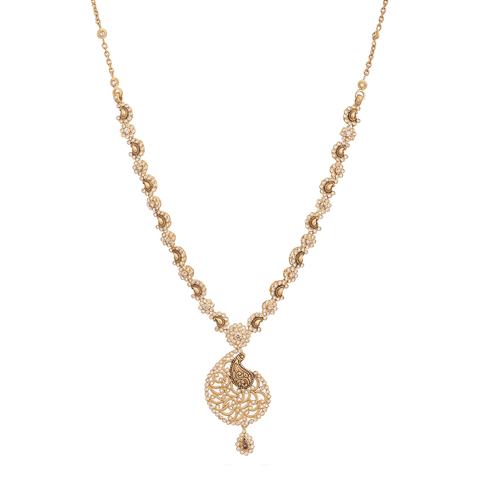 28887 - Asian Gold Necklace