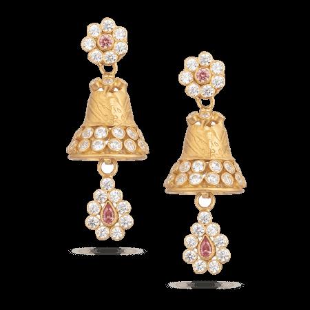 28896 - Asian Gold Earrings UK