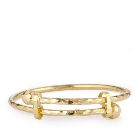 28960 - Adjustable Baby Bangle In 22ct Gold