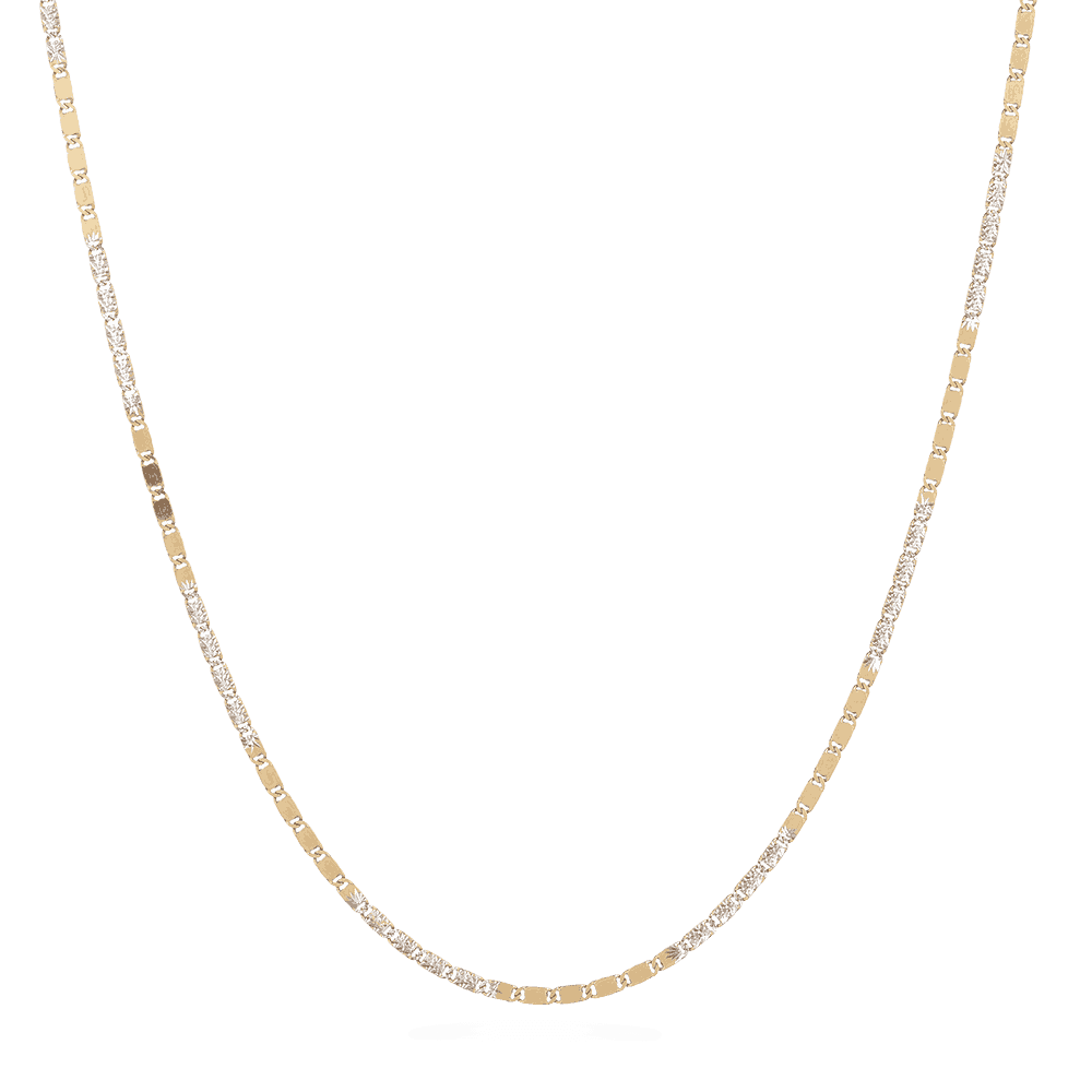 "5738 - 18ct Yellow Gold Fancy Chain in 16"" Inches"
