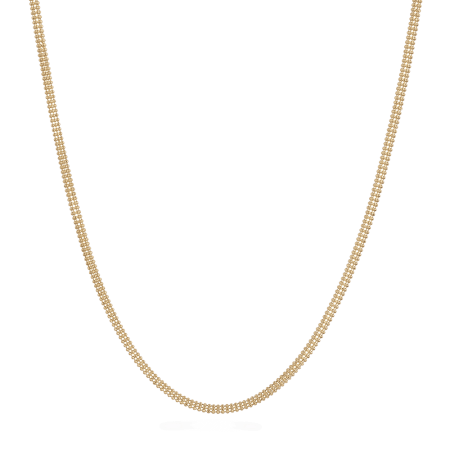 """9157 - 18ct Yellow Gold Fancy Chain 18"""" Inches"""