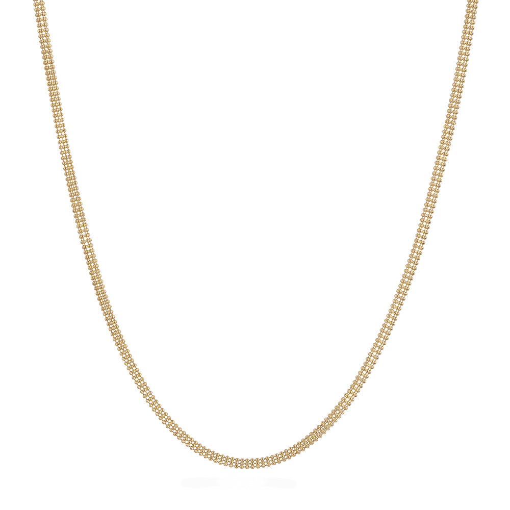 "9157 - 18ct Yellow Gold Fancy Chain 18"" Inches"