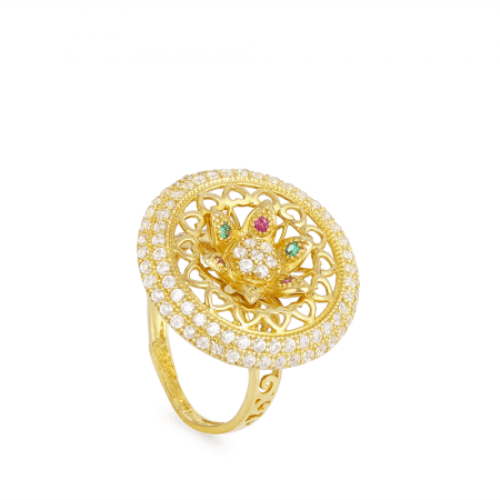 25616 - Cocktail Ring In 22ct