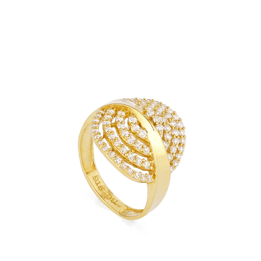26234 - Asian Gold Ring In 22ct Gold