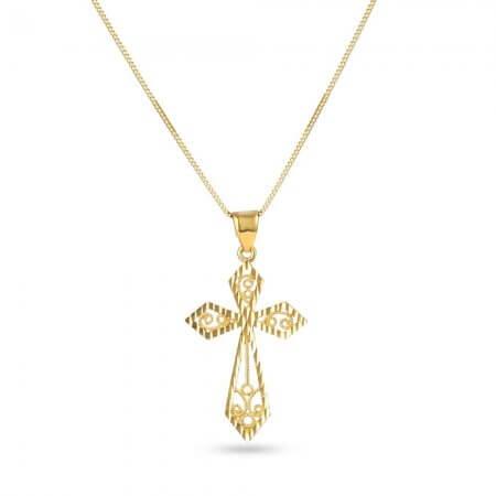 28607 - 22ct Gold Cross Pendant